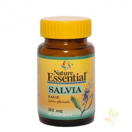Salvia (Salvia officinalis) 500 mg.