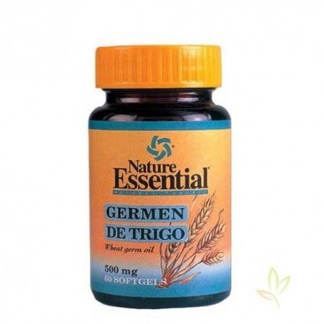 Germen de trigo 500 mg.