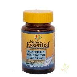Aceite de higado de bacalao 410 mg.
