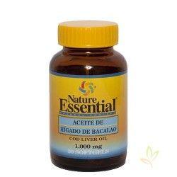 Aceite de higado de bacalao 1000 mg. 30 perlas