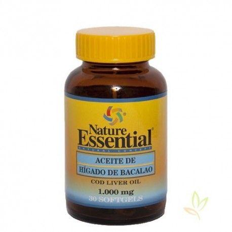 Aceite de higado de bacalao 1000 mg.