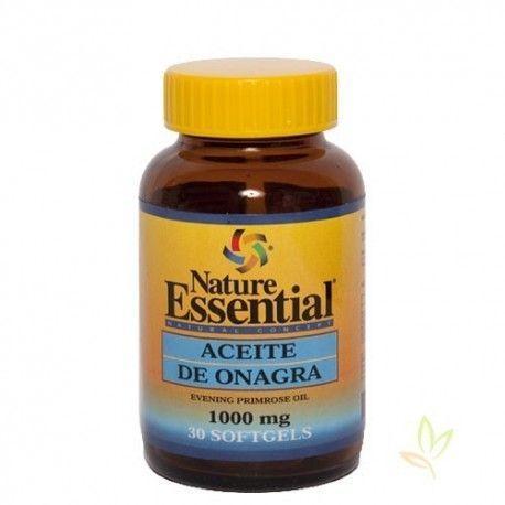 Aceite de onagra 1000 mg.