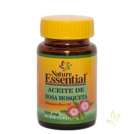 Aceite de rosa mosqueta 500 mg.