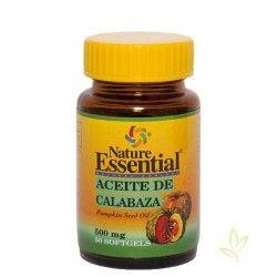 Aceite de de semilla calabaza 500 mg. 50 perlas