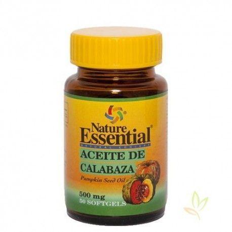 Aceite de de semilla calabaza 500 mg.