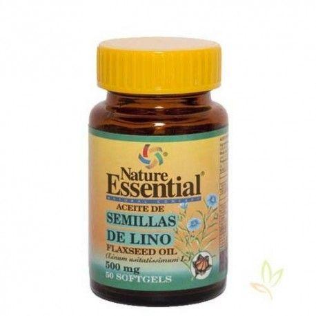 Aceite de semilla de lino 500 mg.