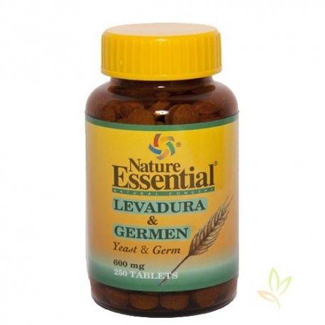 Levadura + Germen 600 mg. 250 Pastillas