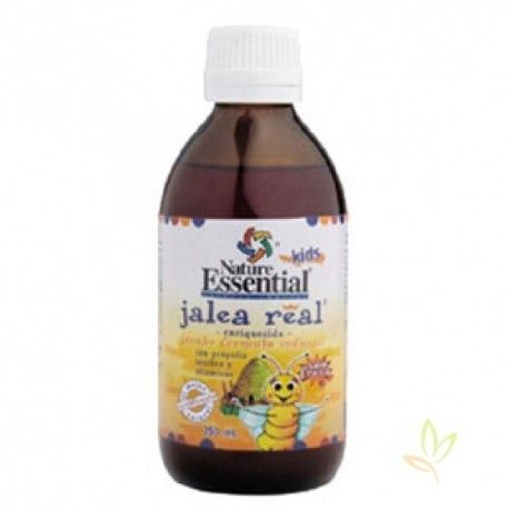 Jarabe infantil de jalea real con quina y vitaminas 250 ml.