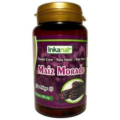Maiz Morado 90 cápsulas de 500mg.