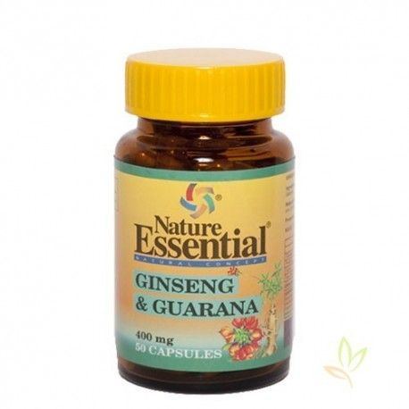 Ginseng + Guarana 400 mg. 50 past.