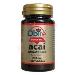 Acai (euterpe oleracea) (Extracto Seco) 100 COMPRIMIDOS