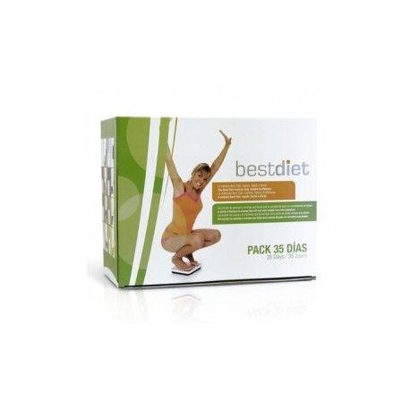 Pack 35 días dieta proteinada BESTDIET