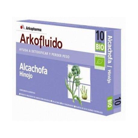 Arkofluídos de alcachofa e hinojo