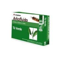 Arkofluido té verde 10 Ampollas