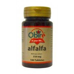 Alfalfa (Medicago sativa) 350 mg.