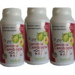 Pure Garcinia + Cromo y Abedul (Pack 3 Unidades)
