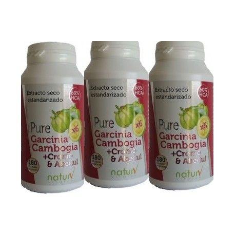 Pure Garcinia + Cromo y Abedul (Pack 2 Unidades)