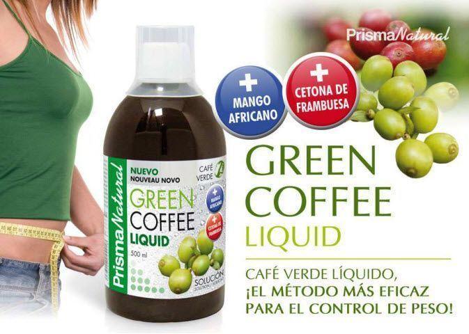 Café verde líquido Prisma Natural