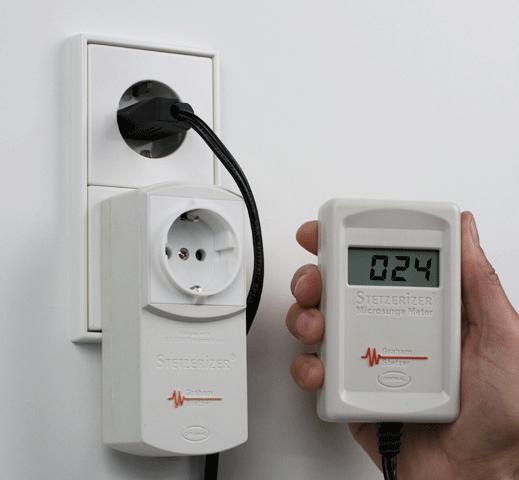 Medidor de campos electromagnéticos Setzerizer