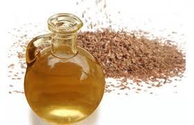 Aceite de linaza o semilla de lino