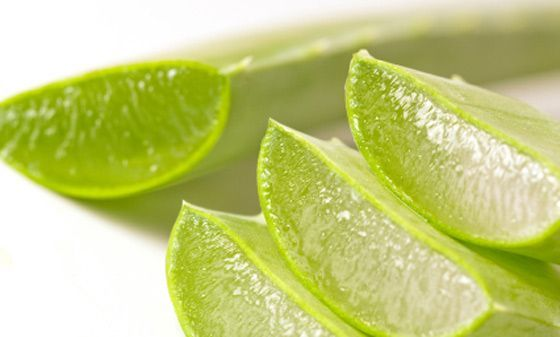 Aloe vera zumo con pulpa