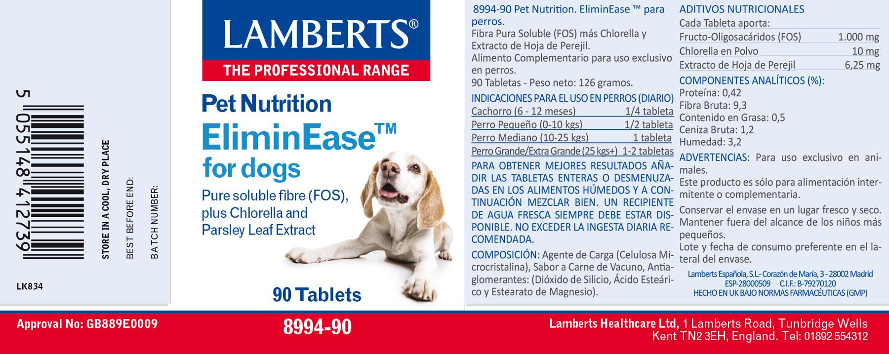 EliminEase para perros
