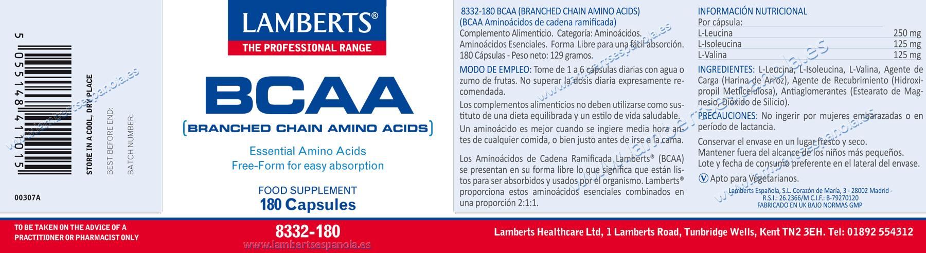 BCAA Aminoácidos
