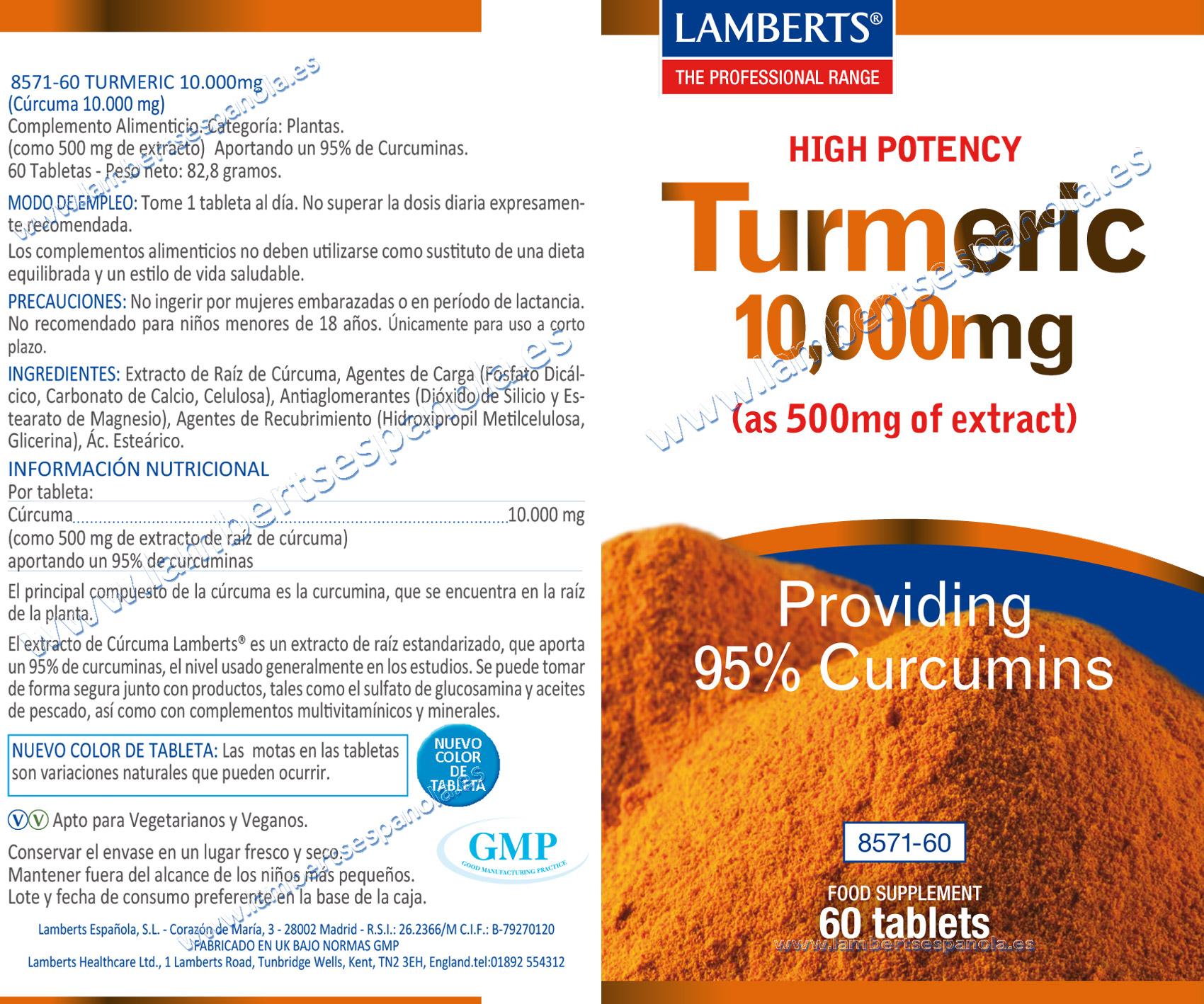 Cúrcuma 10.000 mg Turmeric