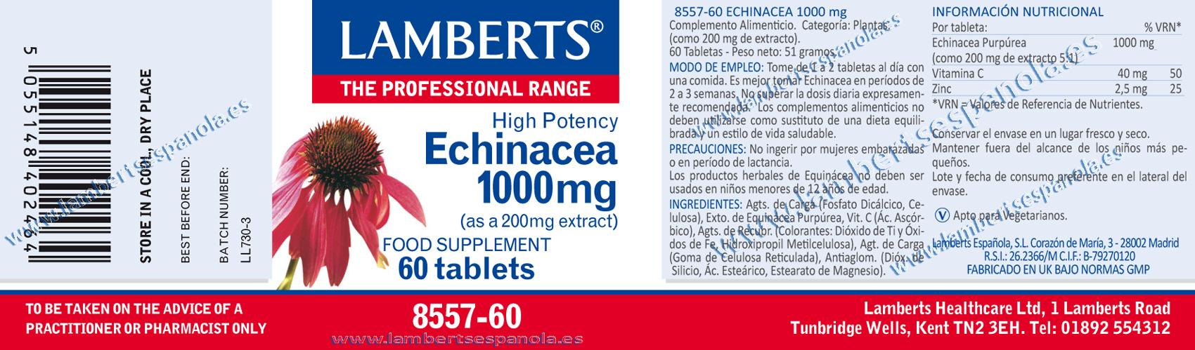 Ehinácea 1000 mg