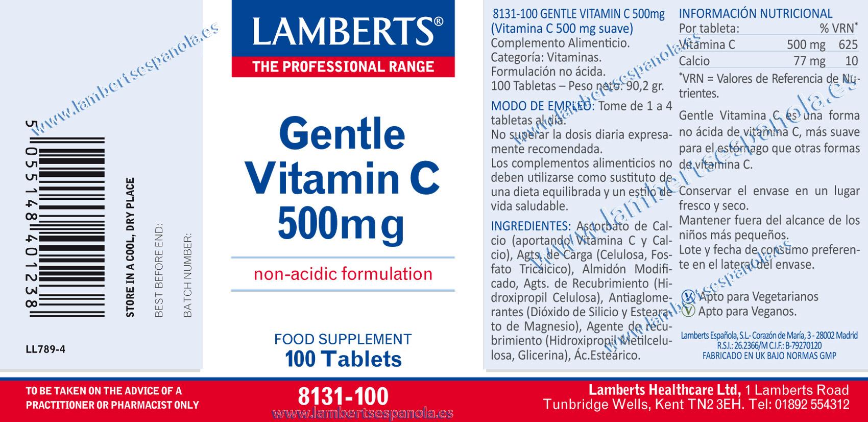 Vitamina C sueva