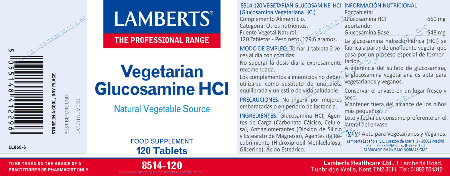Glucosamina vegetariana