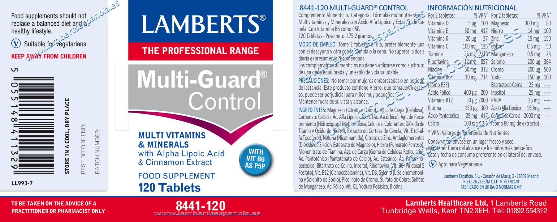 Multiguard-control