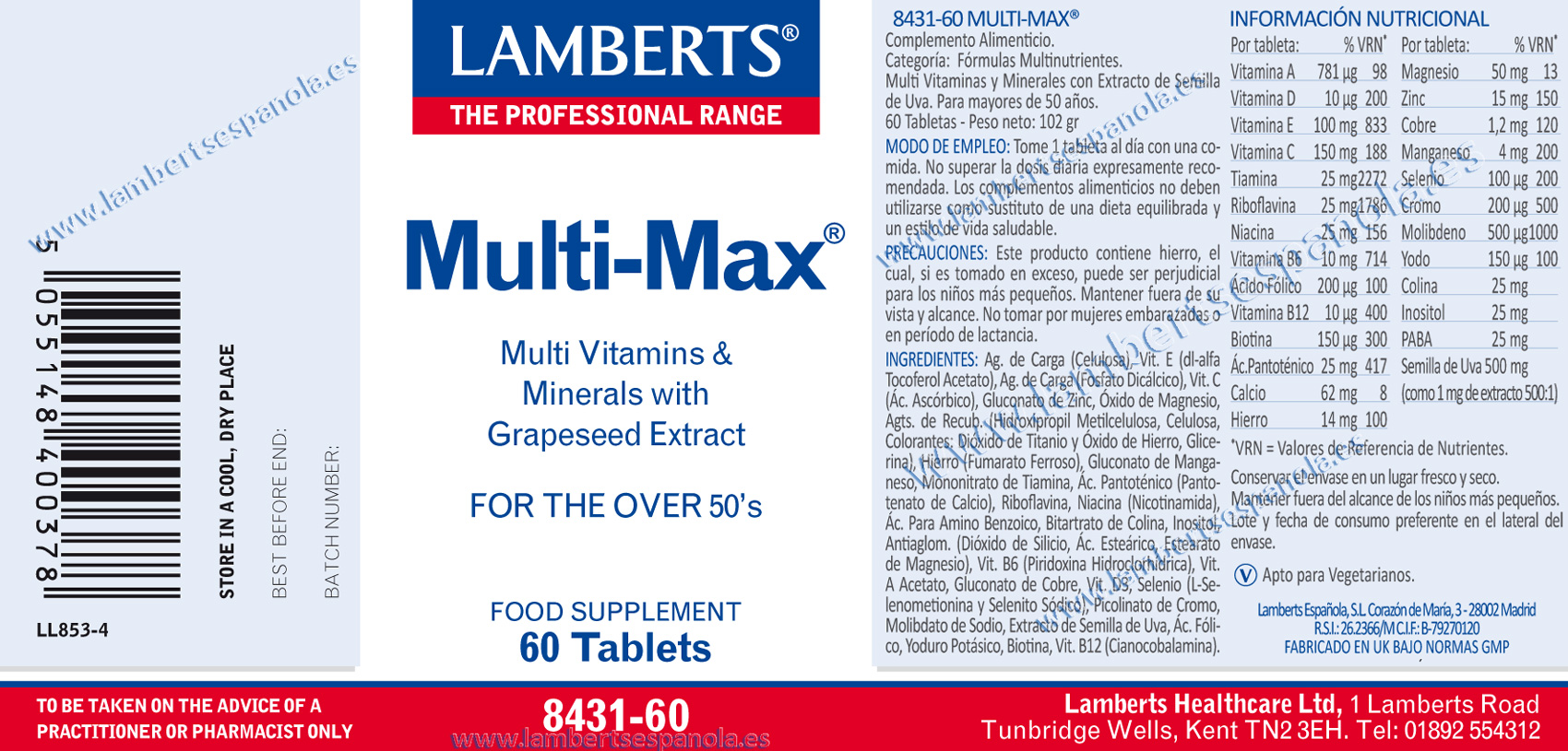 Multimax de Lamberts