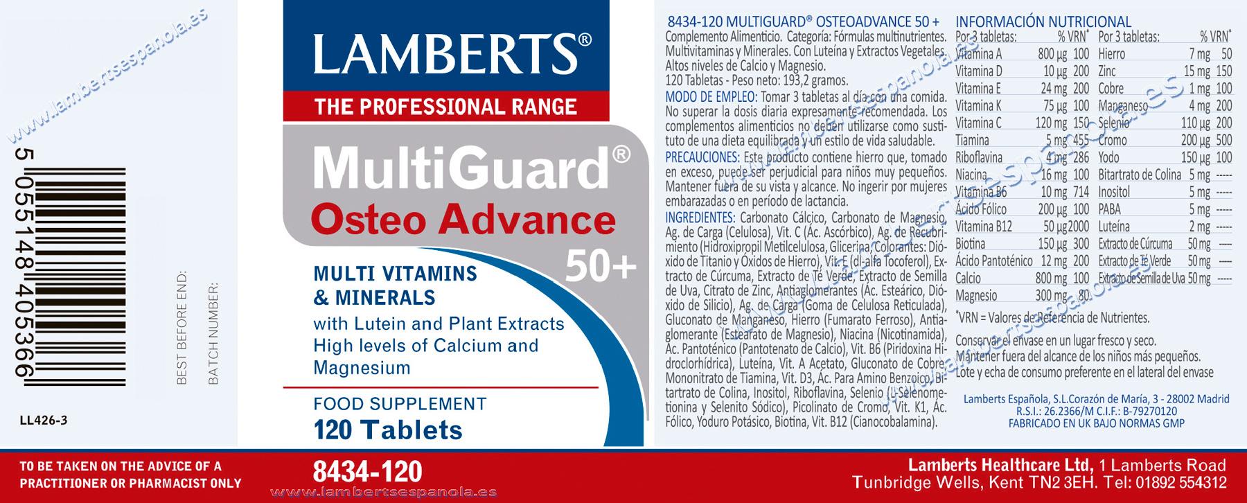 Multiguard-Osteoadvance