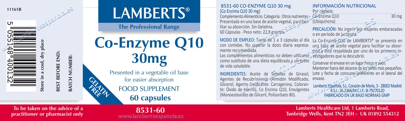 Coenzime Q10 30 mg
