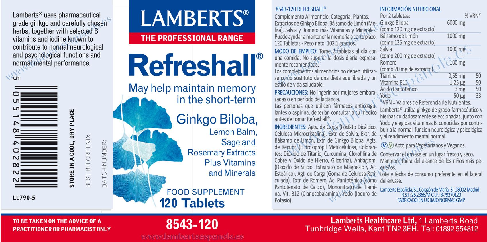 Refreshall (Memoria corto plazo)