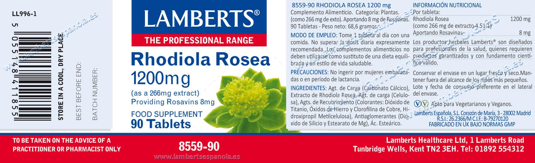 Rhodiola 1200 mg