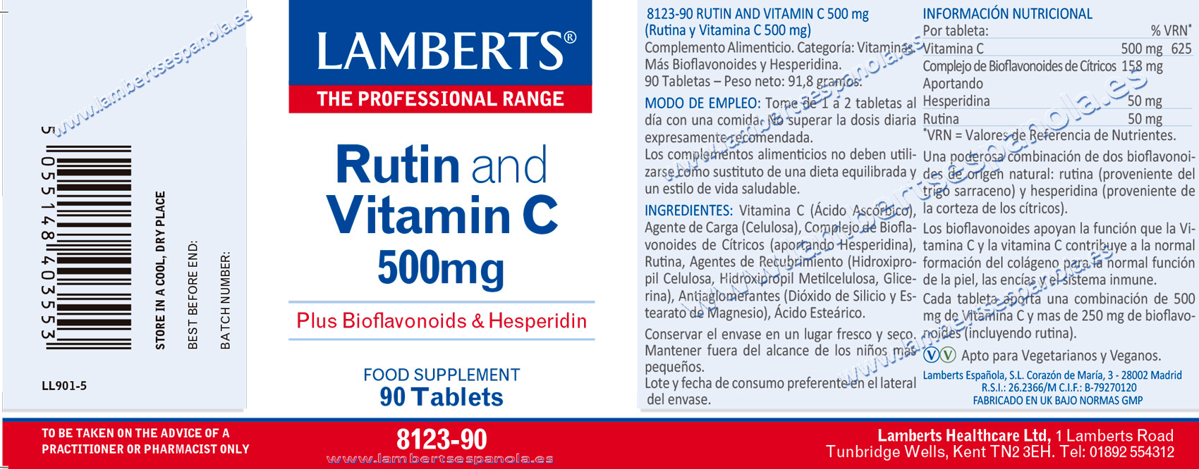 Rutina con Vitamina C