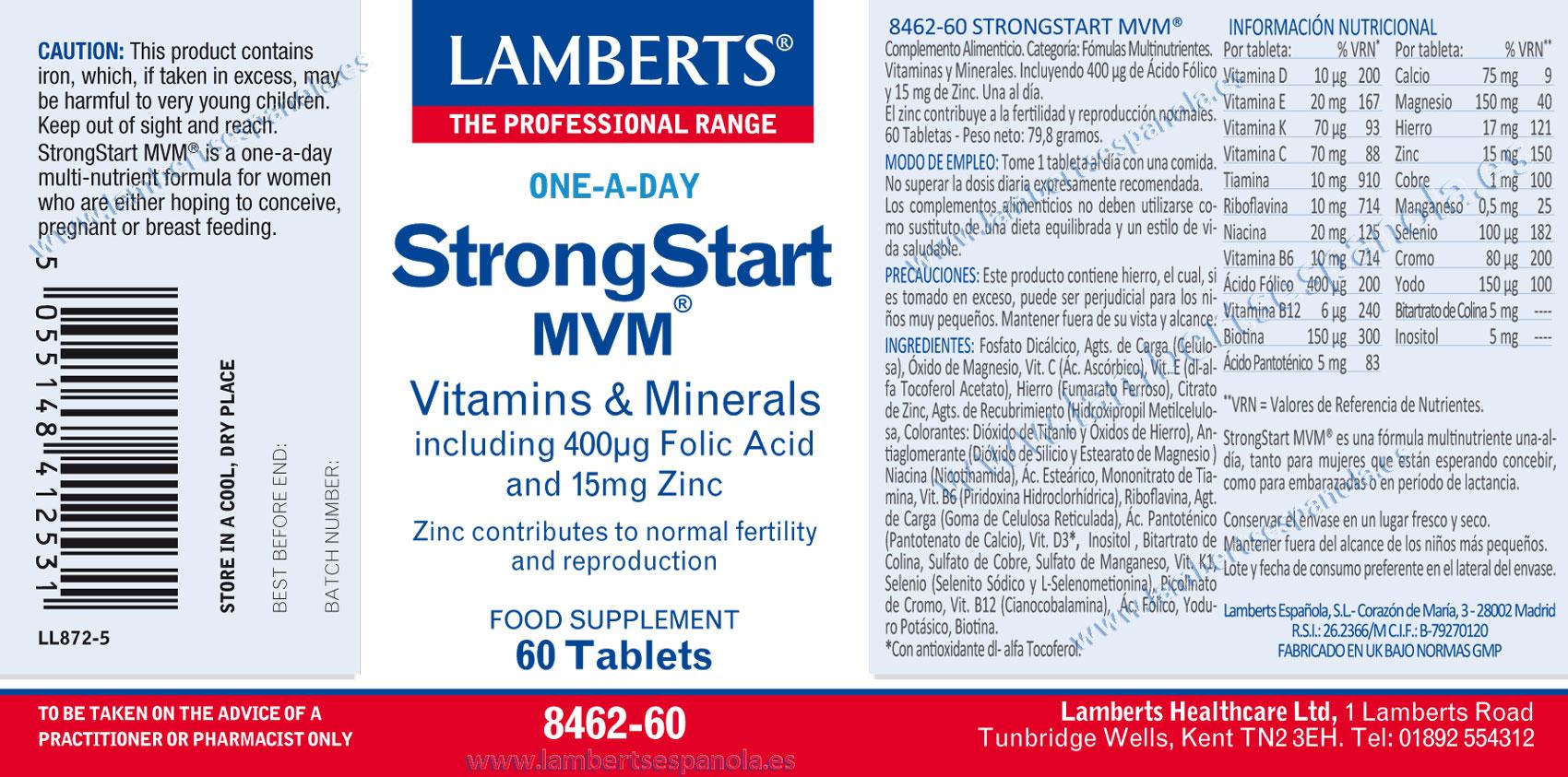 Strong Start de Lamberts