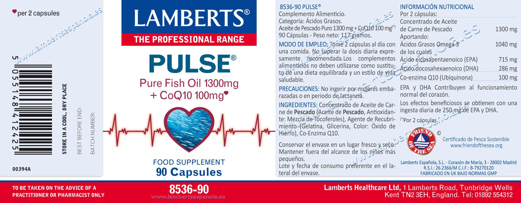 Pulse de Lamberts