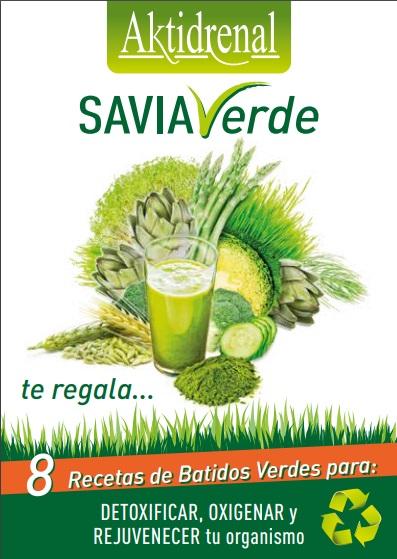 Libro de recetas savia verde