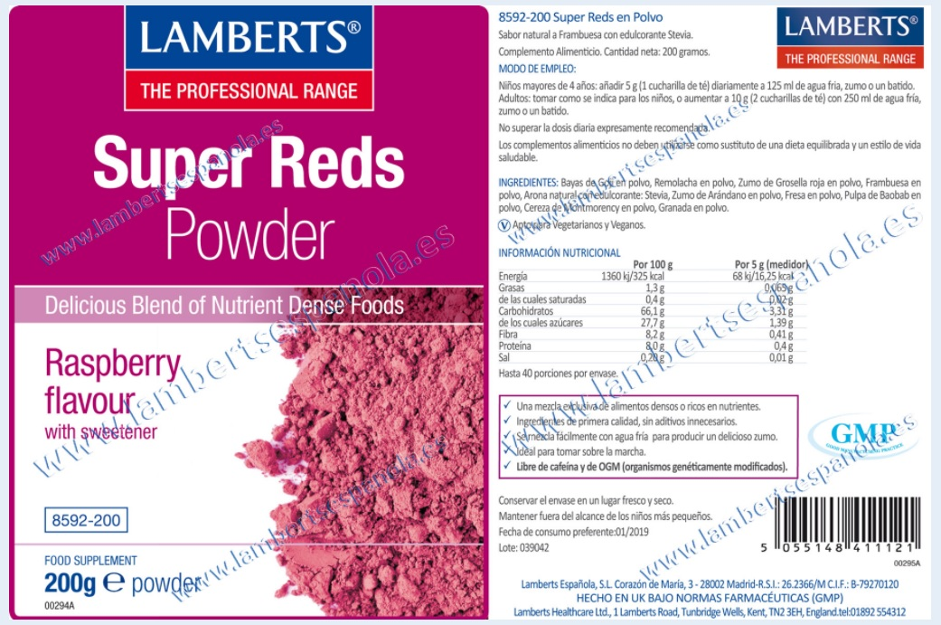 Super Reds de lamberts