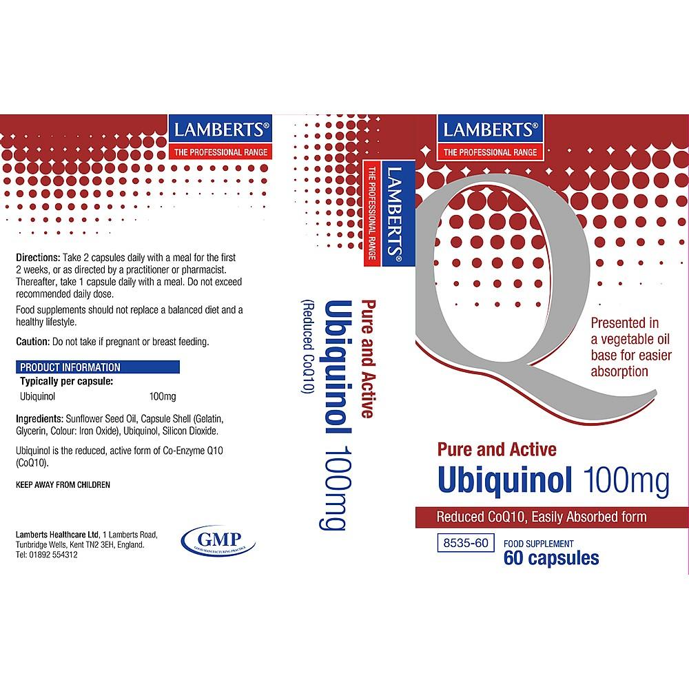 Ubiquinol 100 mg