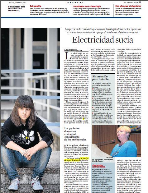 Electropolución o Dirty Electricity
